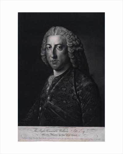 William Pitt (1708-1778) by Richard Houston