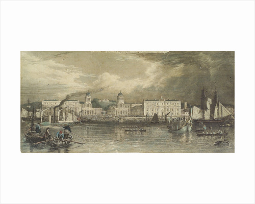 A royal visit to Greenwich Hospital by William & Frederick Havell