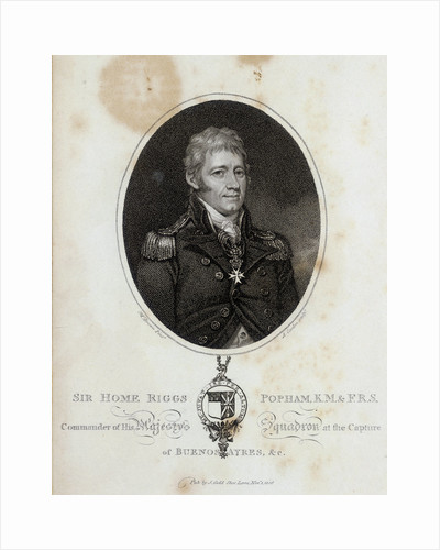 Sir Home Riggs Popham by Mather Brown
