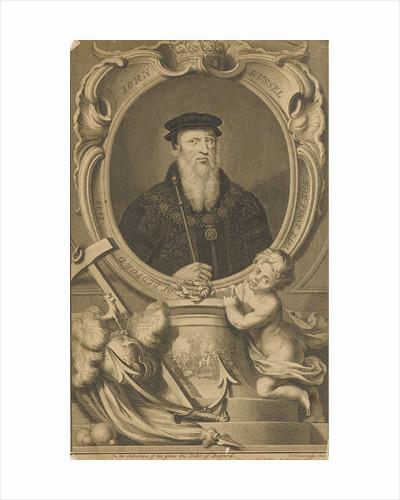 John Russel. The First Earl of Bedford 1549 by Jacobus Houbraken