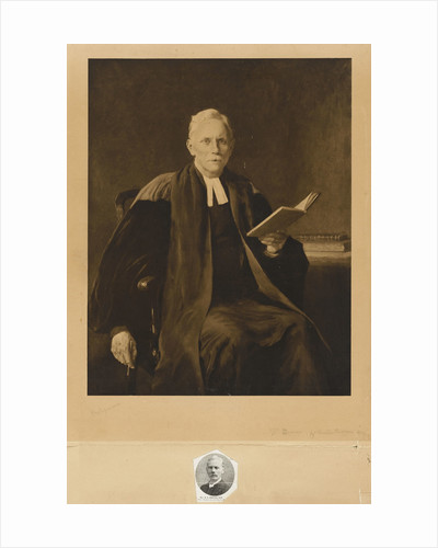 Reverend Samuel Rolles Driver (1846-1914) by unknown