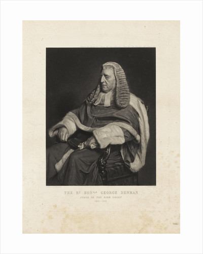George Denman by Henry Tanworth Wells