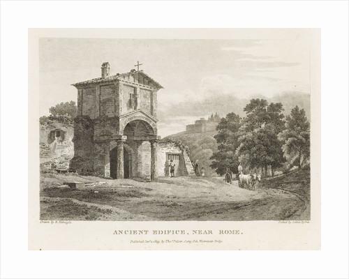 Ancient Edifice, near Rome by Ramsay Richard Reinagle