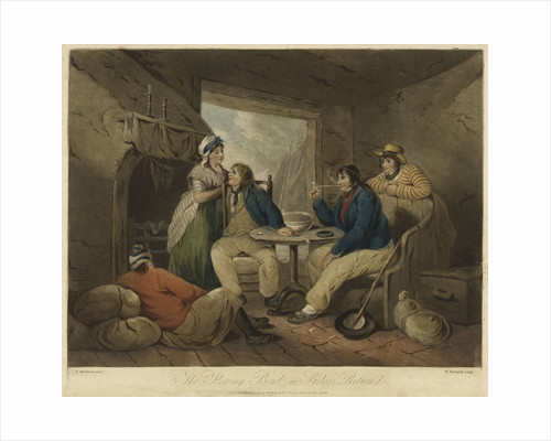 The Flowing Bowl, or, Sailors Return'd by George Morland