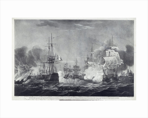 Battle of the Nile by Thomas Whitcombe
