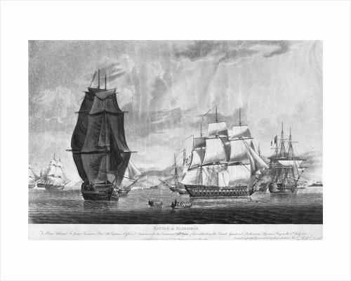 The Battle of Algeciras by Robert Dodd