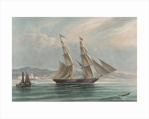 The brig 'Governor Maclean' by William John Huggins