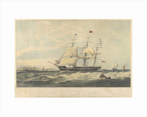 The celebrated Clipper Ship Marco Polo by Thomas Dove