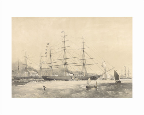 Clipper Ship 'Schomberg' (1855) by G.H. Andrews