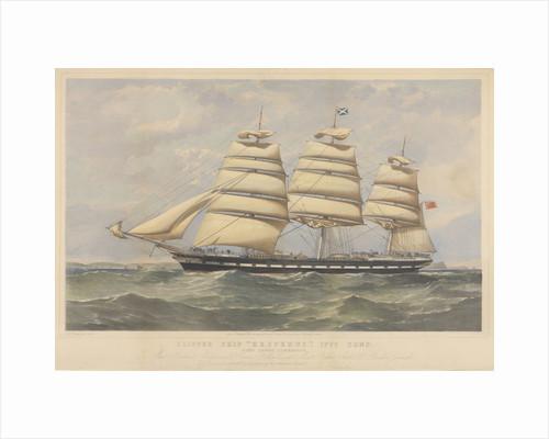 Clipper Ship 'Hesperus' by Thomas Goldsworth Dutton