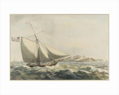 The Trinity yacht by William John Huggins