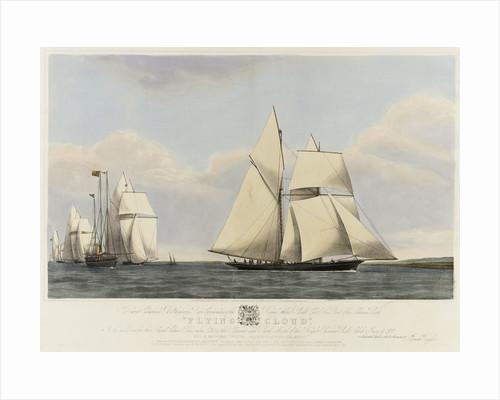 The schooner yacht 'Flying Cloud' by Josiah Taylor