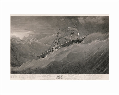 The East India Company's iron war steamer 'Nemesis' by W.J. Leatham