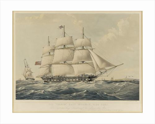 The East Indiaman 'Vernon' by Thomas Goldsworth Dutton