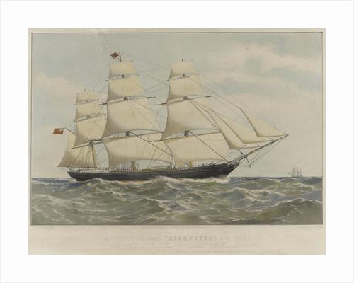 Clipper ship 'Highflyer' by Thomas Goldsworth Dutton