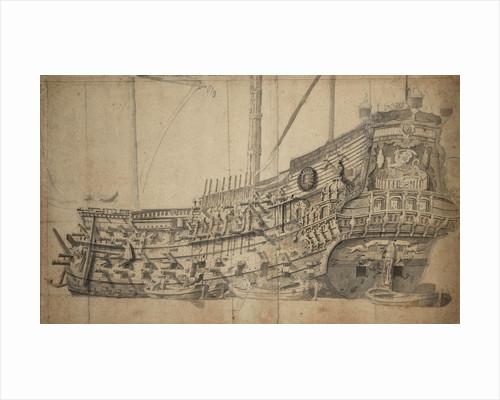 The 'Eendracht' by Willem van de Velde the Elder