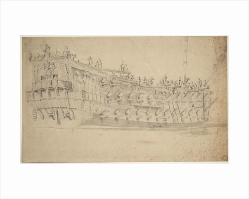 Portrait of the 'Harwick'? by Willem van de Velde the Elder