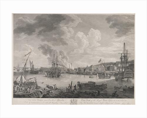 Chatham dockyard by Richard Paton