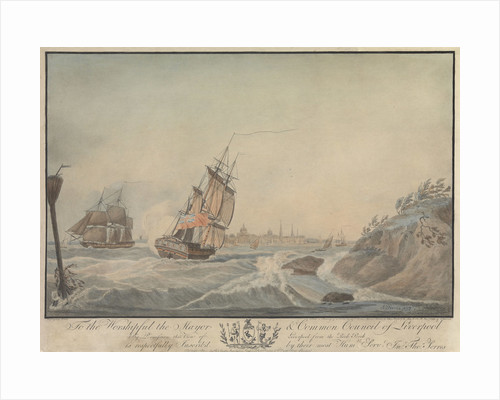View of Liverpool from the Rock Perch by John Thomas Serres