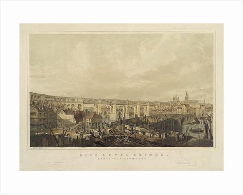 High Level Bridge, Newcastle upon Tyne by John Wilson Carmichael