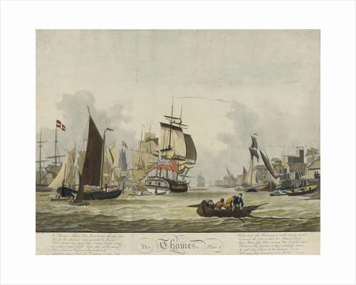 The Thames by John Thomas Serres