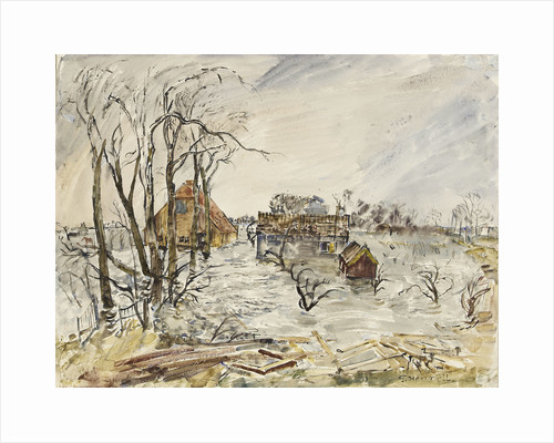 Flooded Walcheren by Thomas Hennell