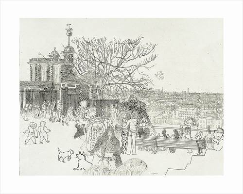 The Old Royal Observatory, Greenwich by Anthony Gross