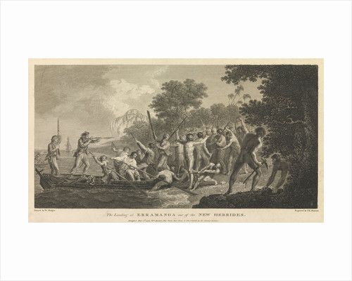 The landing at Erramanga, one of the New Hebrides by William Hodges