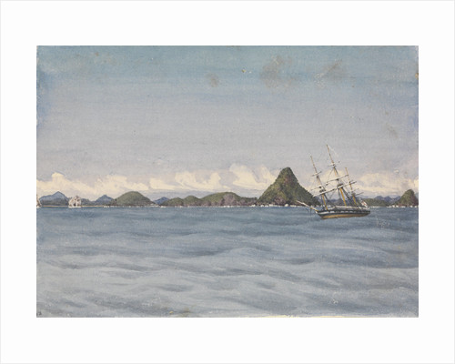 Outer anchorage in a calm, Mazatlan [Mexico], Augt 17th 1850 by Edward Gennys Fanshawe