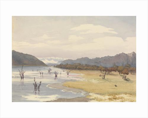Lake of Acoleo [Aculeo], Chile, Jany 11th 1851 by Edward Gennys Fanshawe