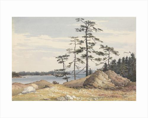 Esquimalt Harbour, Vancouver's Island, June 28th 1851 [Canada] by Edward Gennys Fanshawe