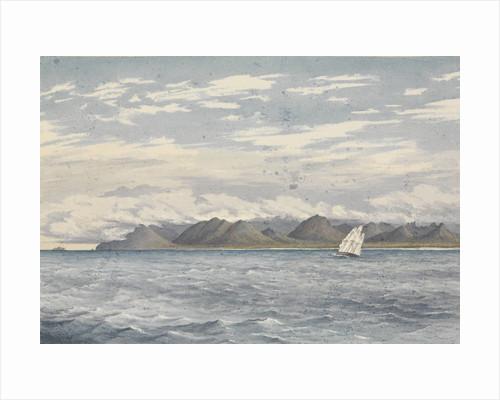 Woody Point, Vancouver's Island, July 8th 1851 [Canada] by Edward Gennys Fanshawe