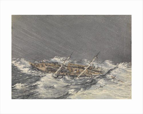 Storm at Mazatlan [Mexico], Octr 28th 1851 by Edward Gennys Fanshawe