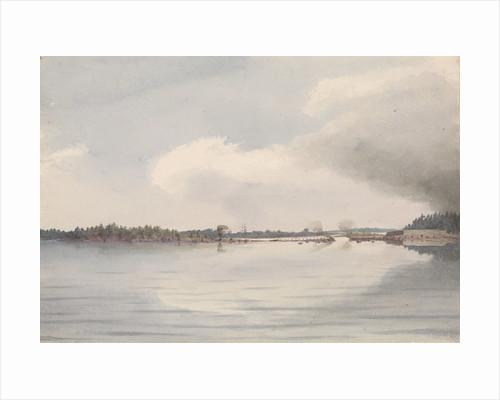 Kotka bridge, burnt July 26th 1855 [Finland] by Edward Gennys Fanshawe