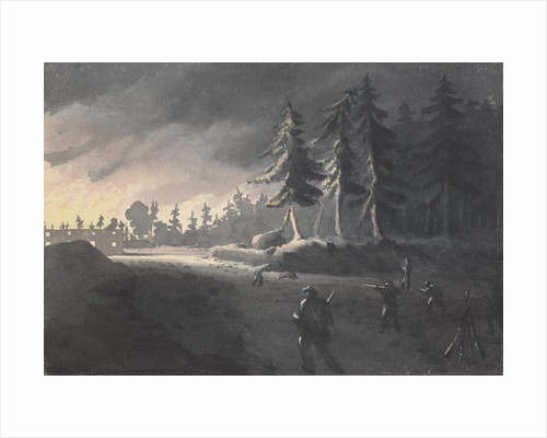 The parson and the pig: an incident at the burning of Kotka, Finland, 27 July 1855 by Edward Gennys Fanshawe
