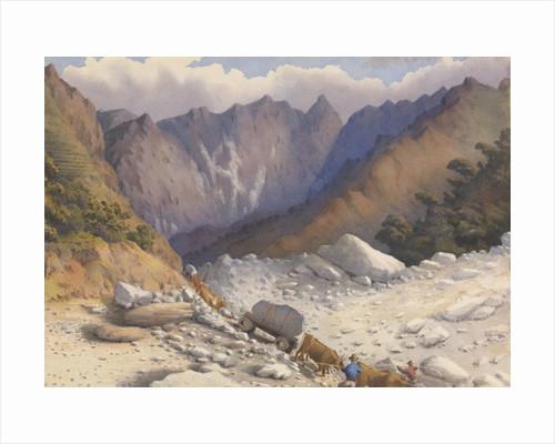 Quarries near Carrara, July 1857 [Italy] by Edward Gennys Fanshawe