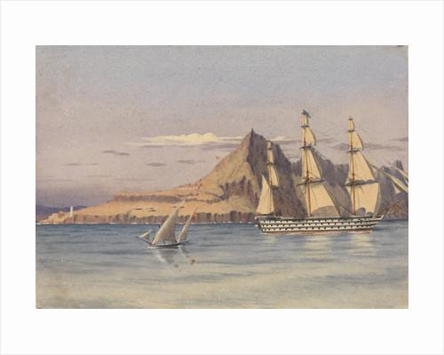 Europa Point, Gibraltar, Augt 29th 1857 by Edward Gennys Fanshawe