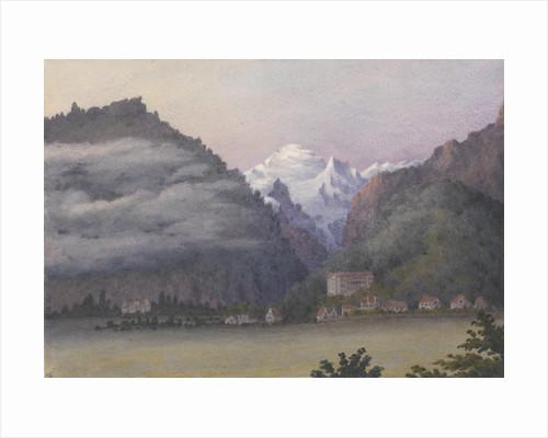 Jungfrau from Interlaken, 1877 [Switzerland] by Edward Gennys Fanshawe