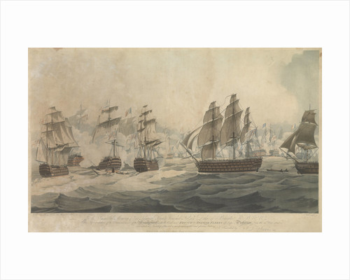 The Battle of Trafalgar, 21 October 1805 by John Thomas Serres