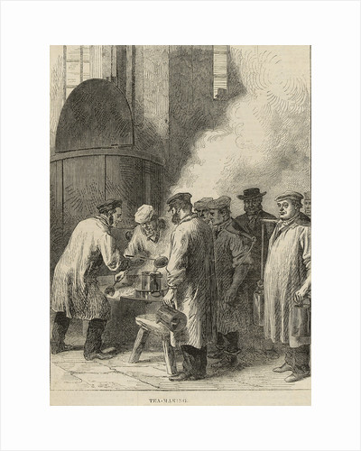 Tea Making, Greenwich Hospital by M. Jackson