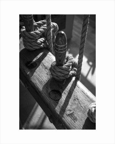 Foremast Pin Rail, Morgenster VOF by Richard Sibley
