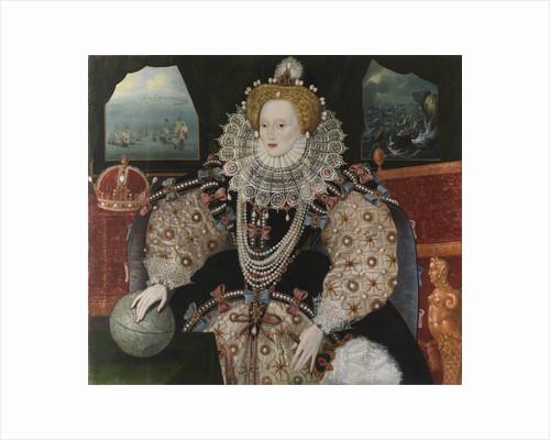 Elizabeth I, 1533-1603 (the 'Armada Portrait') by English School