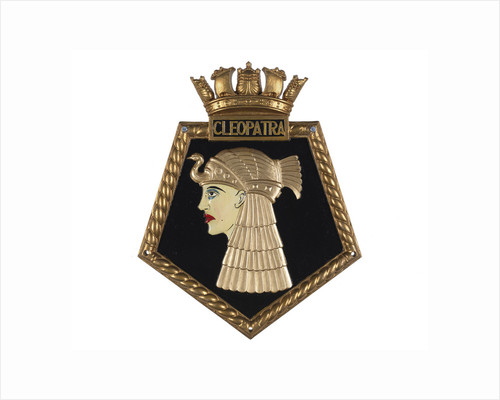 Ship's badge HMS 'Cleopatra' (1915) by unknown