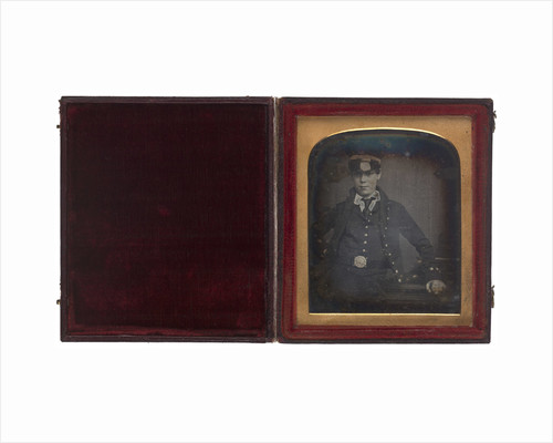 Portrait of an unidentified naval officer, possibly Herbert Rivington Holmes by Jeremiah Egerton