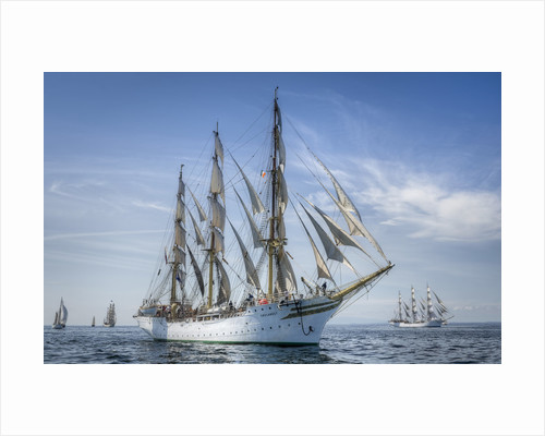 Norwegian full-rigged ship 'Sorlandet' during Waterford Tall Ships Race, 2011 by Richard Sibley