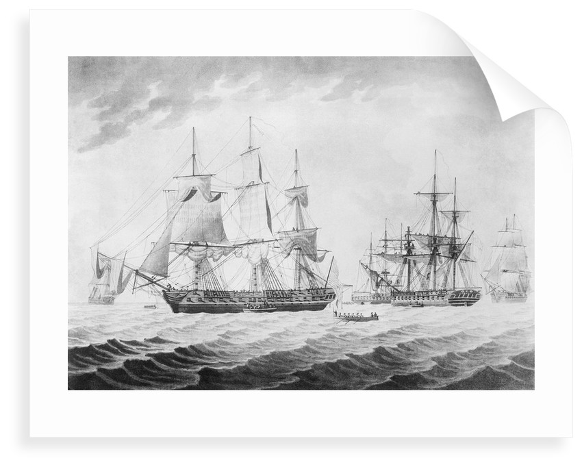 To Captain H Hope... of His Majesty's Frigate Endymion... the Morning after the Action with the American United States Frigate President, Jany 16th 1814... by Thomas Buttersworth