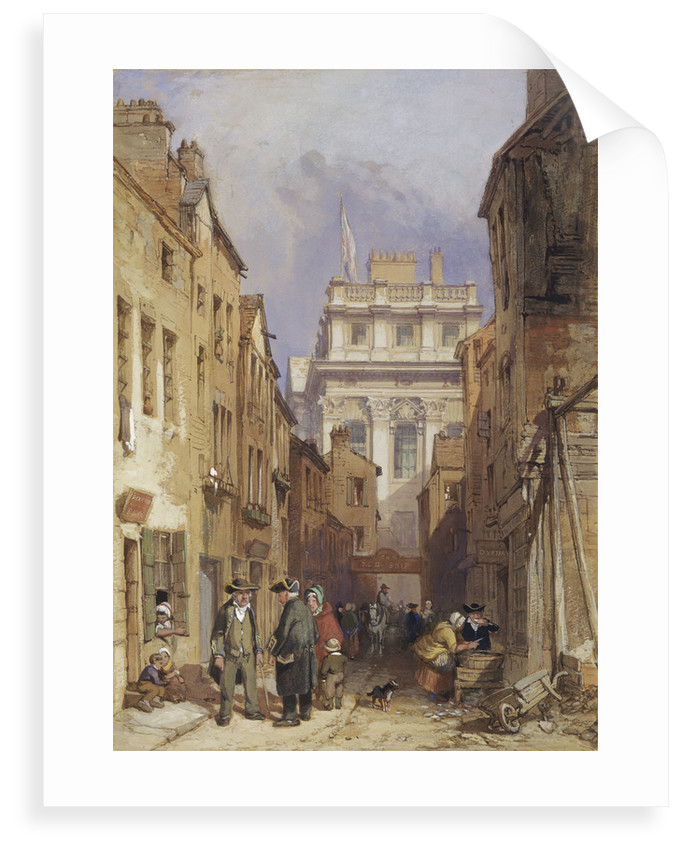 Fisher's Alley, Greenwich by Clarkson Stanfield