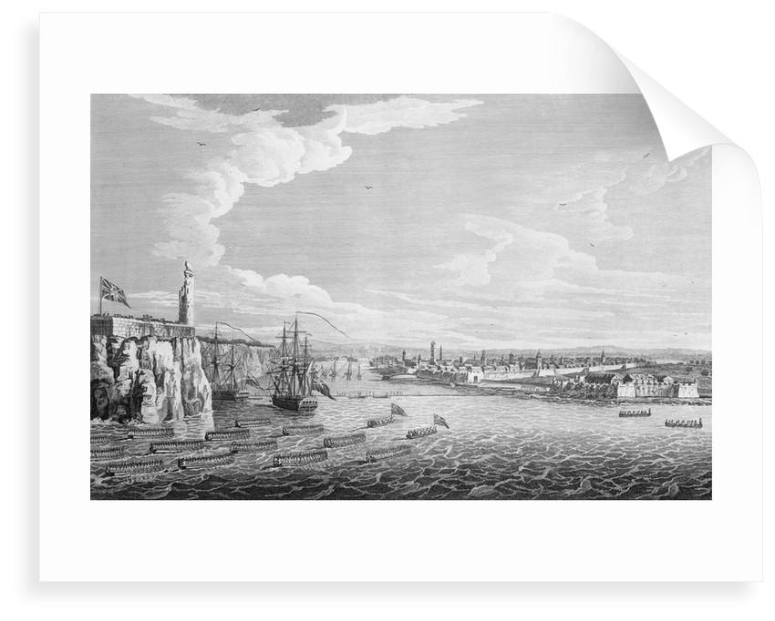 'Reduction of Havannah' (Havana, Cuba), 1762 by James Mason