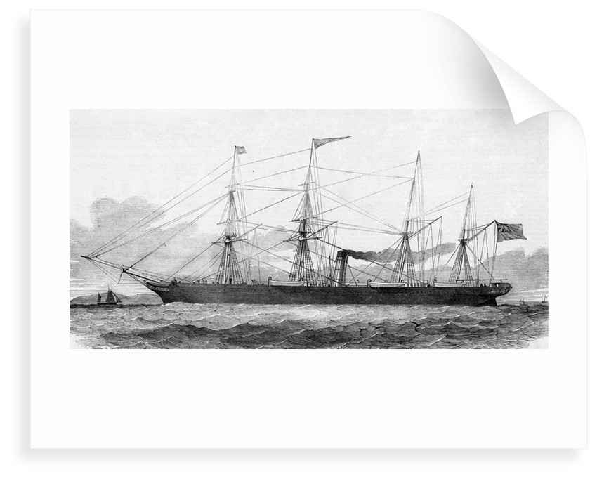 Screw steamer 'City of Manchester' by unknown