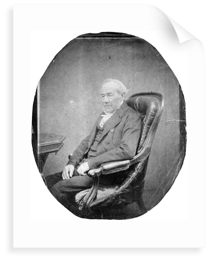 Reverend George Fisher (1794-1873) by unknown